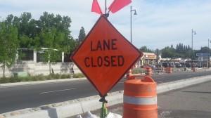 Lane Closed on Auburn Boulevard in Citrus Heights