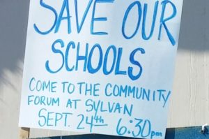 Save our schools, Sylvan Middle School