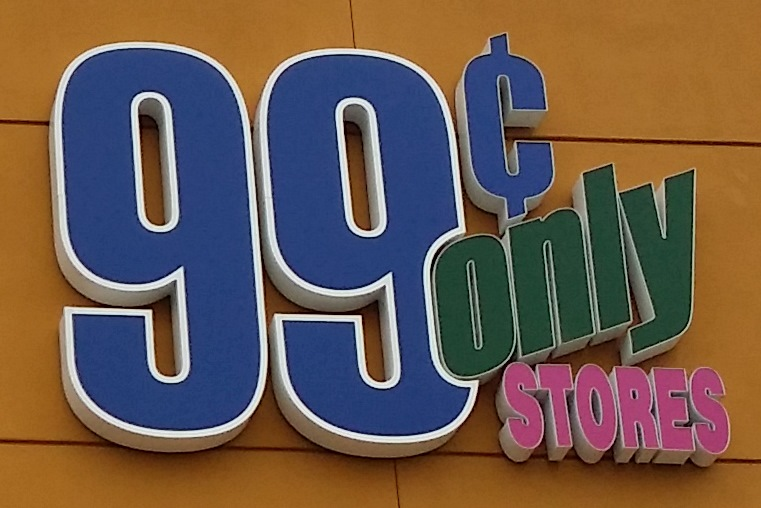 99 Cents Only Store Logo Sign Photo By Luke Otterstad